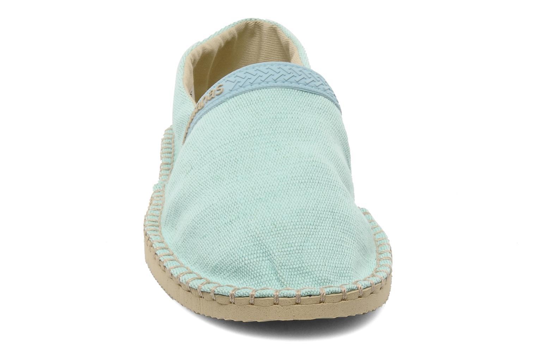 Espadrilles Havaianas Origine Eco W Bleu vue portées chaussures