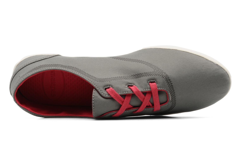 Sneaker Havaianas Essentia Low W grau ansicht von links