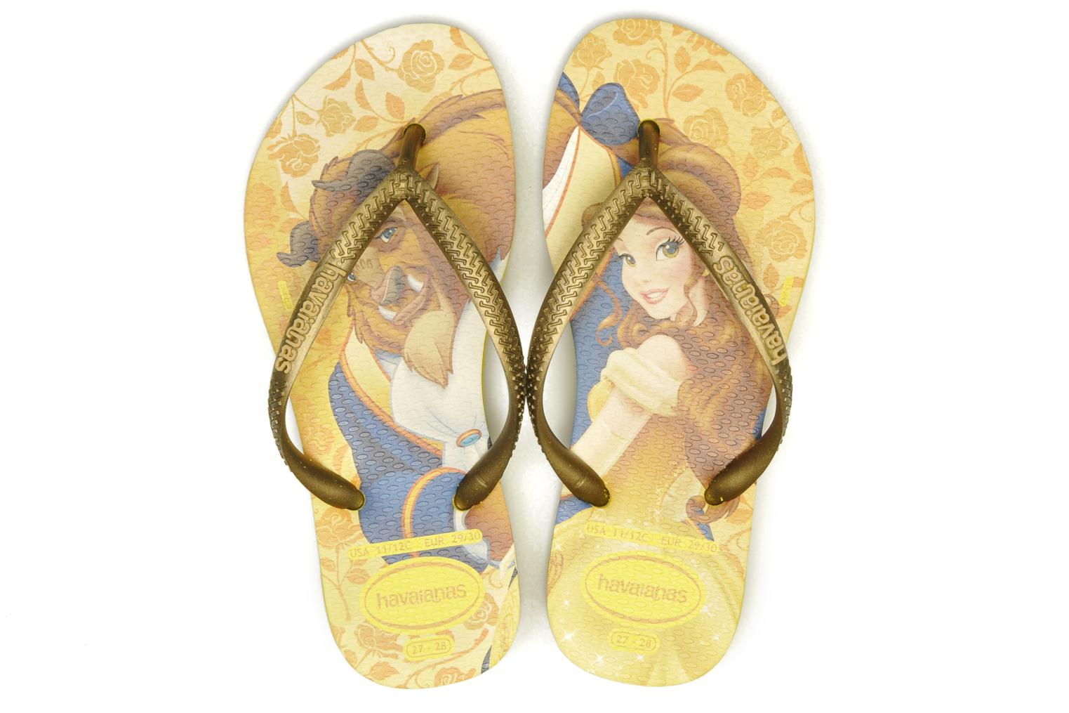 Tongs Havaianas Kids Slim Princess Multicolore vue 3/4