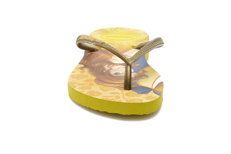 Tongs Havaianas Kids Slim Princess Multicolore vue portées chaussures