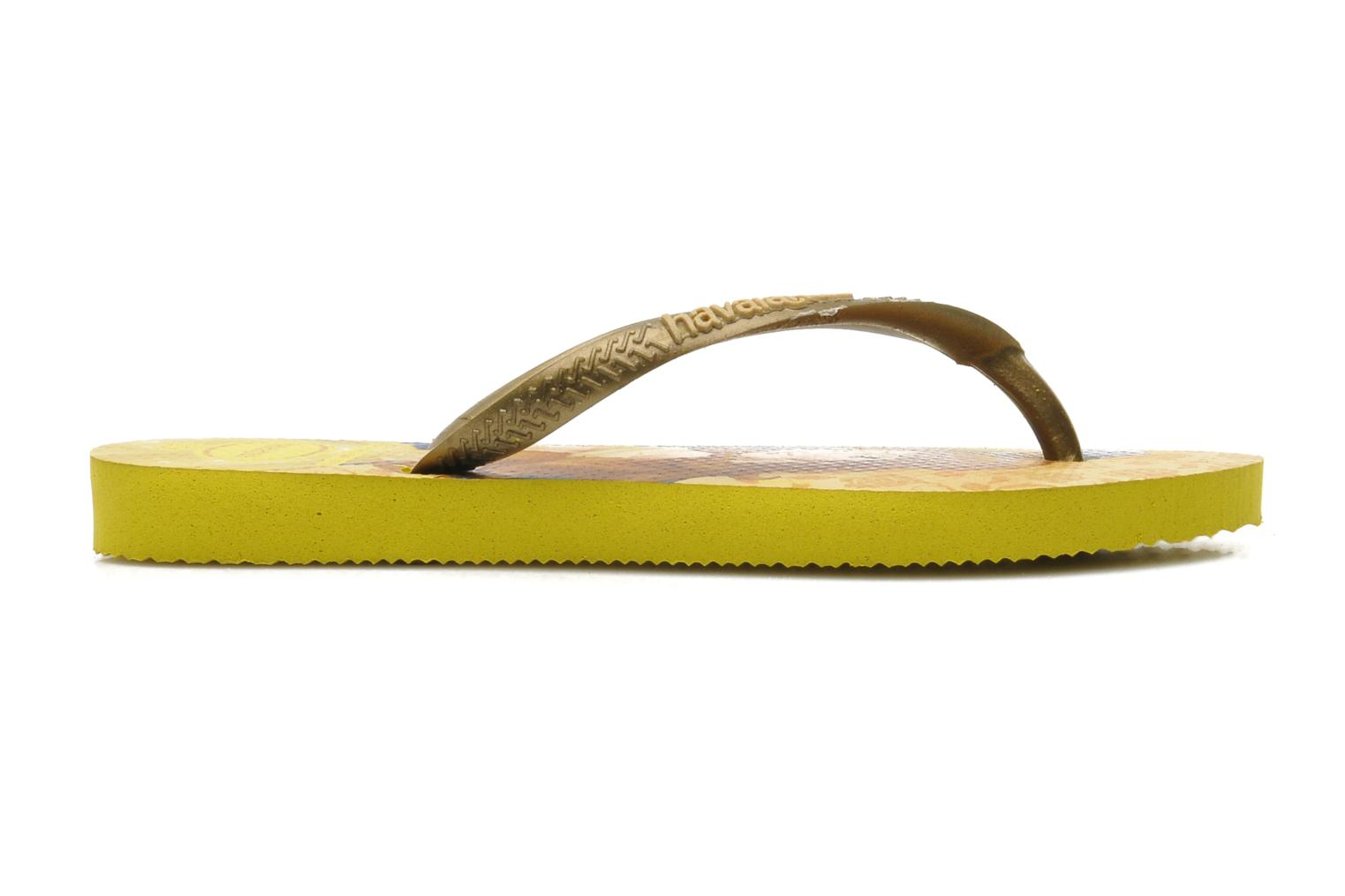 Tongs Havaianas Kids Slim Princess Multicolore vue derrière