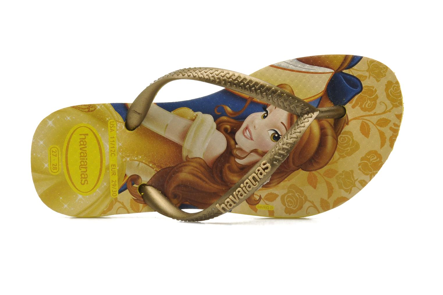 Tongs Havaianas Kids Slim Princess Multicolore vue gauche