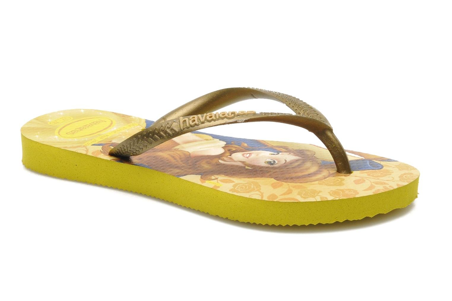 Tongs Havaianas Kids Slim Princess Multicolore vue détail/paire
