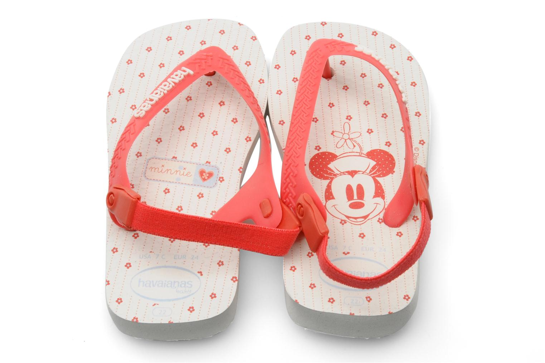 Baby Mickey Minnie White Sugar Coral