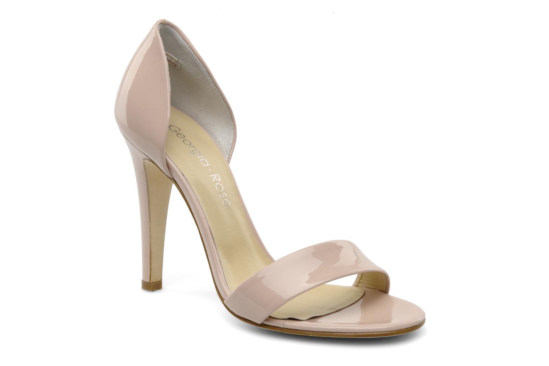 Sandales et nu-pieds Georgia Rose Dellia Rose vue détail/paire