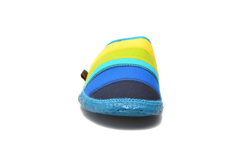 Chaussons Giesswein Azusa Multicolore vue portées chaussures