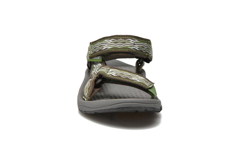 Chaussures de sport Teva Hurricane 3 M Vert vue portées chaussures