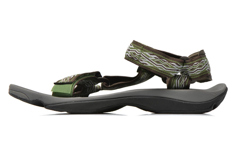 Chaussures de sport Teva Hurricane 3 M Vert vue face