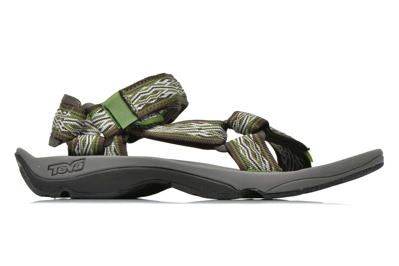 Chaussures de sport Teva Hurricane 3 M Vert vue derrière