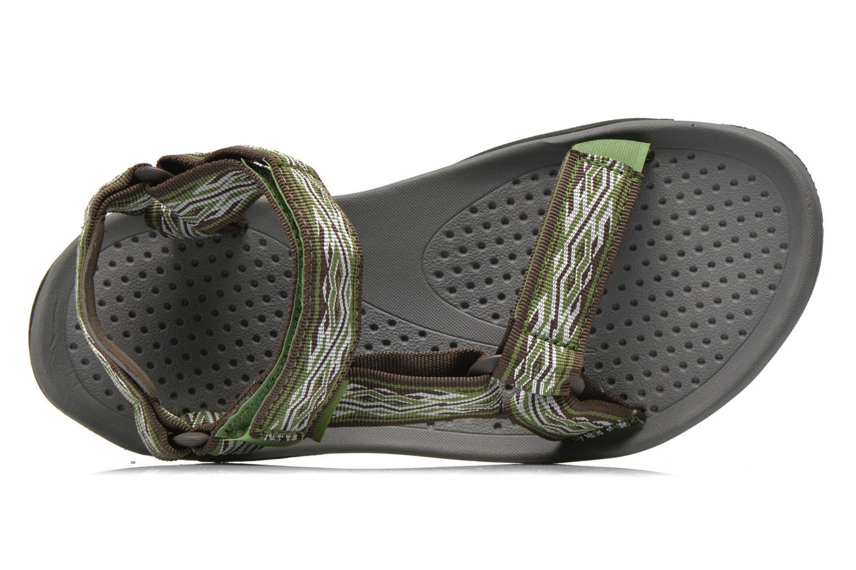 Chaussures de sport Teva Hurricane 3 M Vert vue gauche
