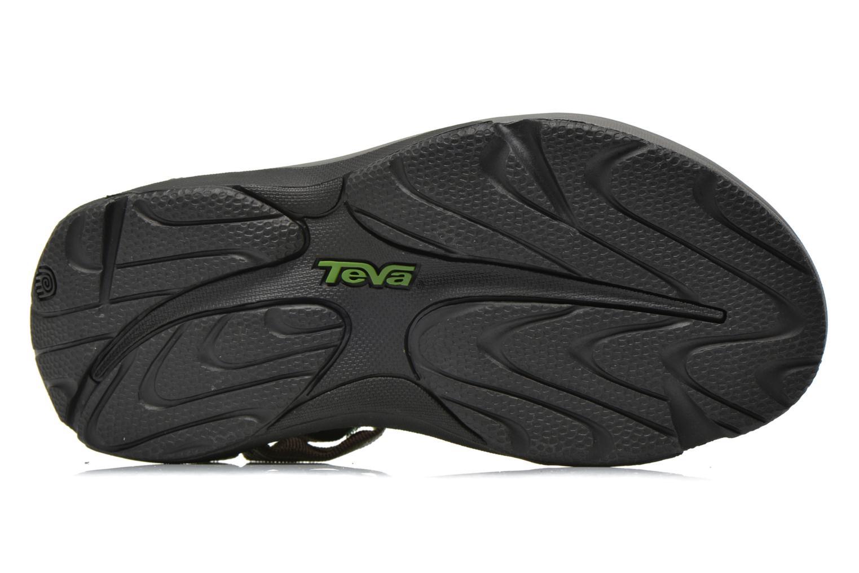 Chaussures de sport Teva Hurricane 3 M Vert vue haut