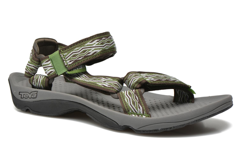 Chaussures de sport Teva Hurricane 3 M Vert vue détail/paire