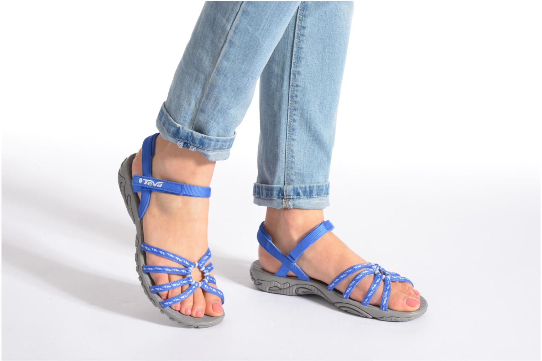 Chaussures de sport Teva Kayenta W Noir vue bas / vue portée sac
