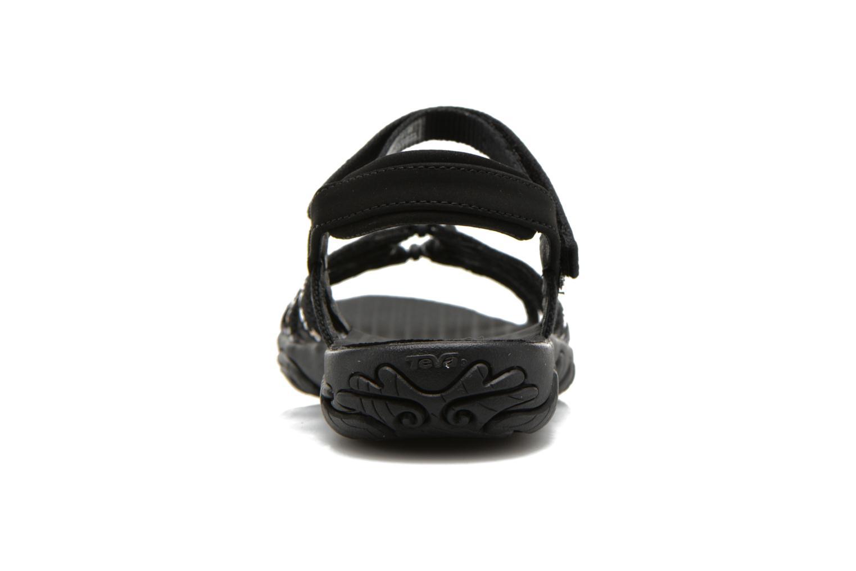 Chaussures de sport Teva Kayenta W Noir vue droite