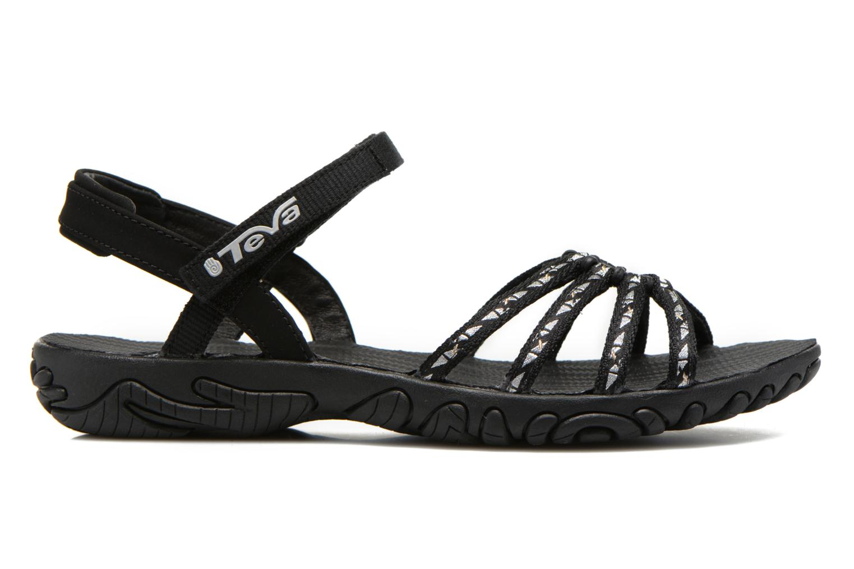 Sport shoes Teva Kayenta W Black back view