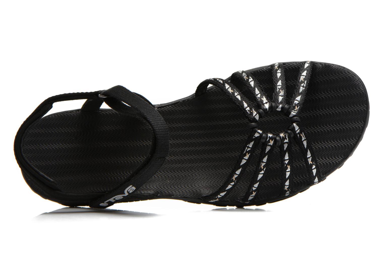 Chaussures de sport Teva Kayenta W Noir vue gauche