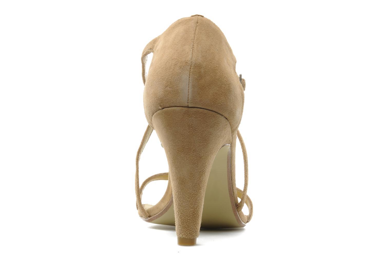 Sandales et nu-pieds Georgia Rose Soara Beige vue droite