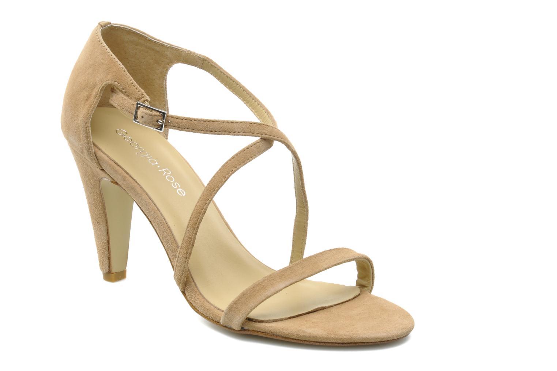 Sandales et nu-pieds Georgia Rose Soara Beige vue détail/paire