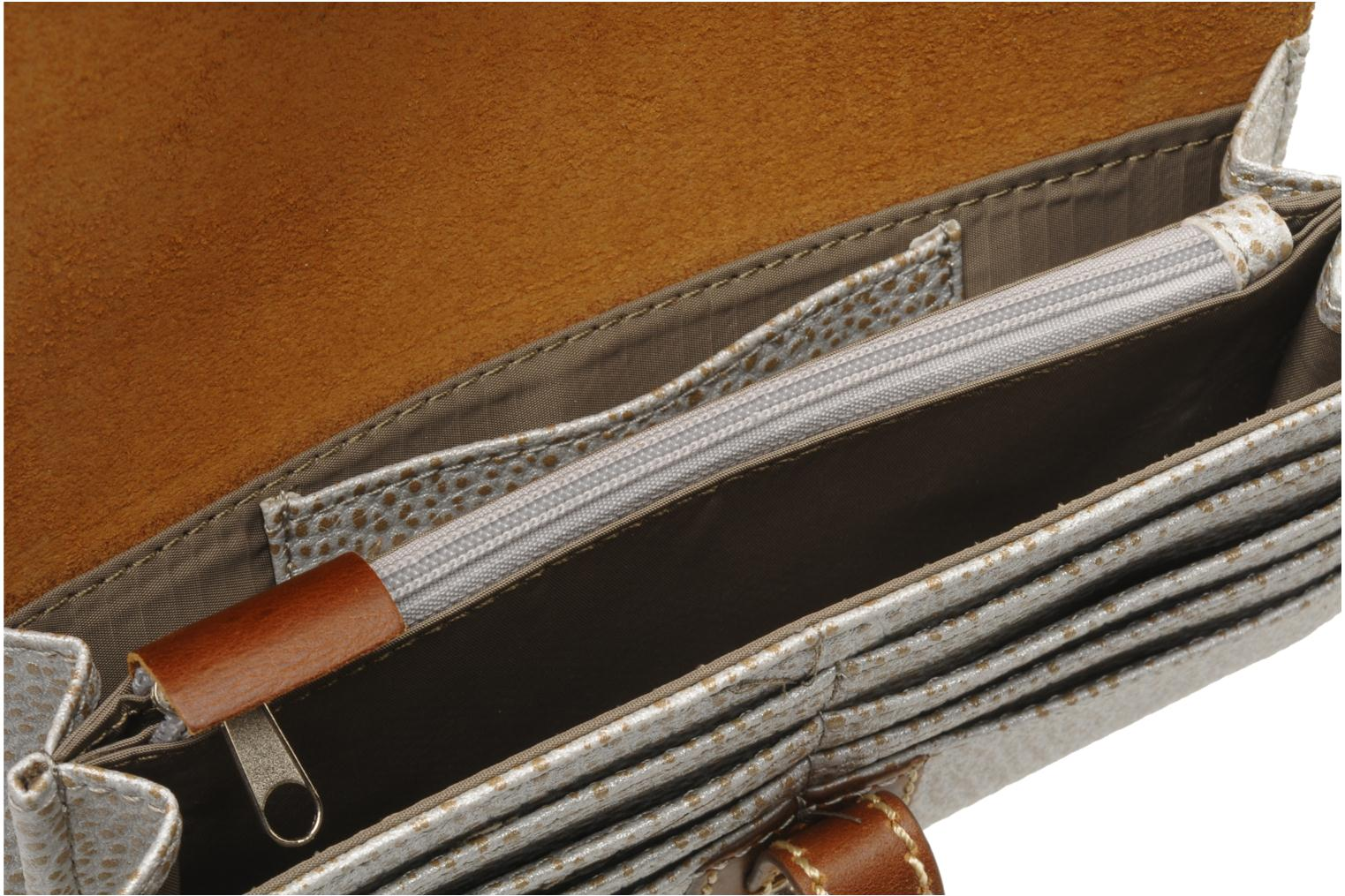Wallets & cases Paquetage Paco Compagnon Silver back view