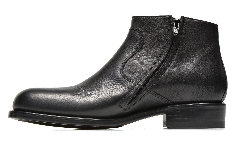 Stiefeletten & Boots Jean-Baptiste Rautureau Nash zip boot schwarz ansicht von vorne