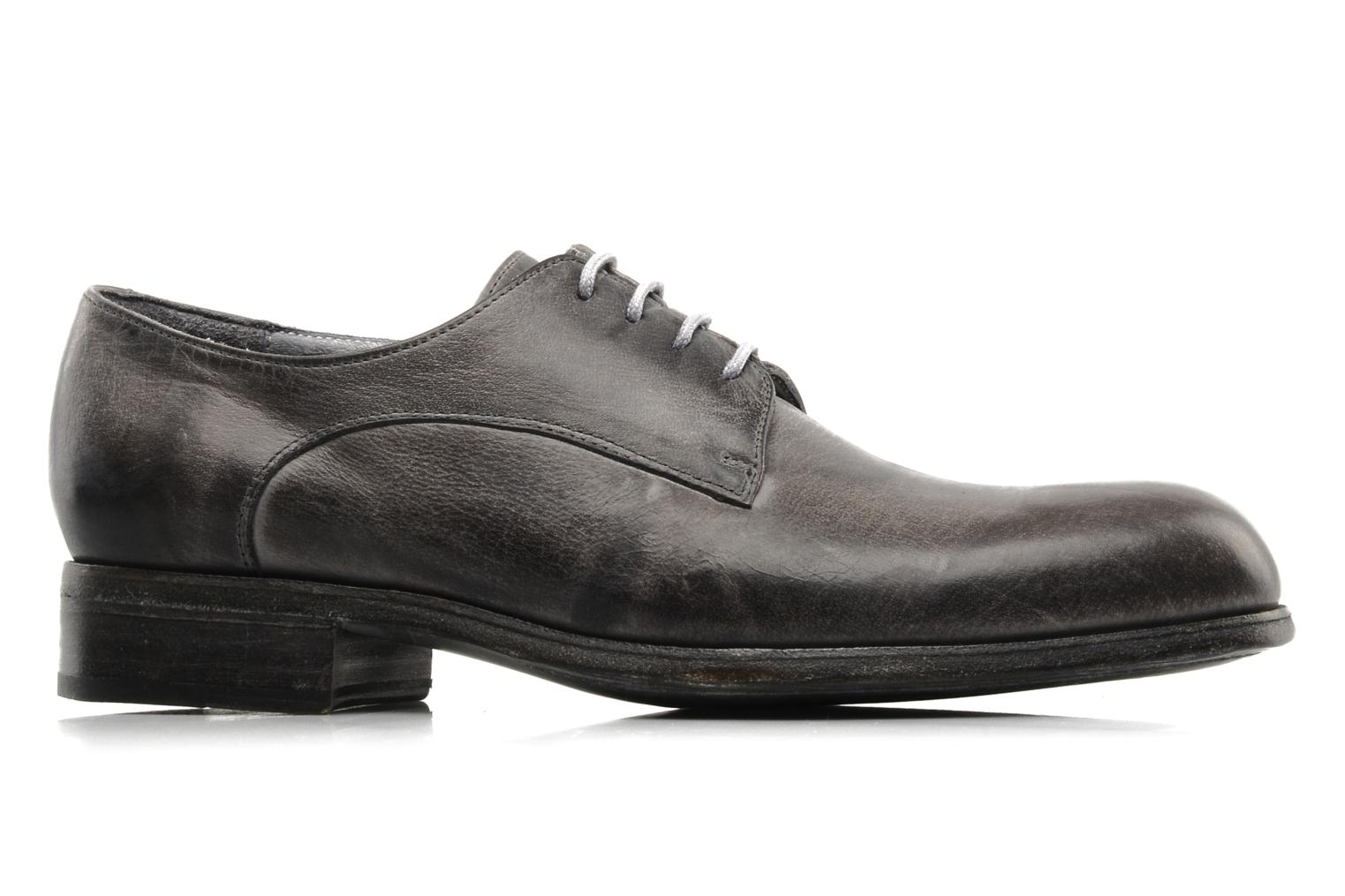 Lace-up shoes Free Lance Azev 4 derby Grey back view