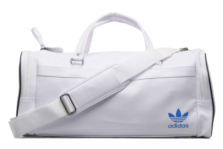 Sacs de sport Adidas Originals AC TEAMBAG Blanc vue face