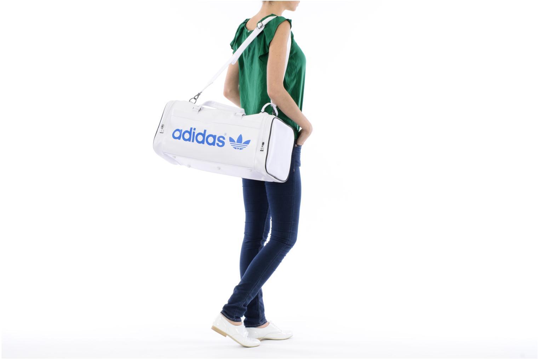 Sacs de sport Adidas Originals AC TEAMBAG Blanc vue haut