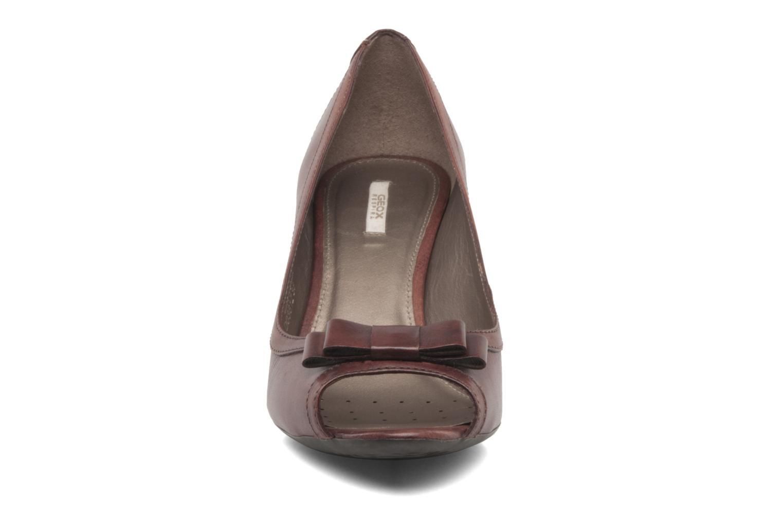 Zapatos de tacón Geox D Francia Z Marrón vista del modelo