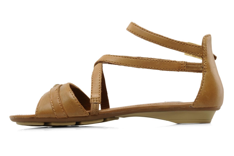 Sandals Geox D felisa d Brown front view
