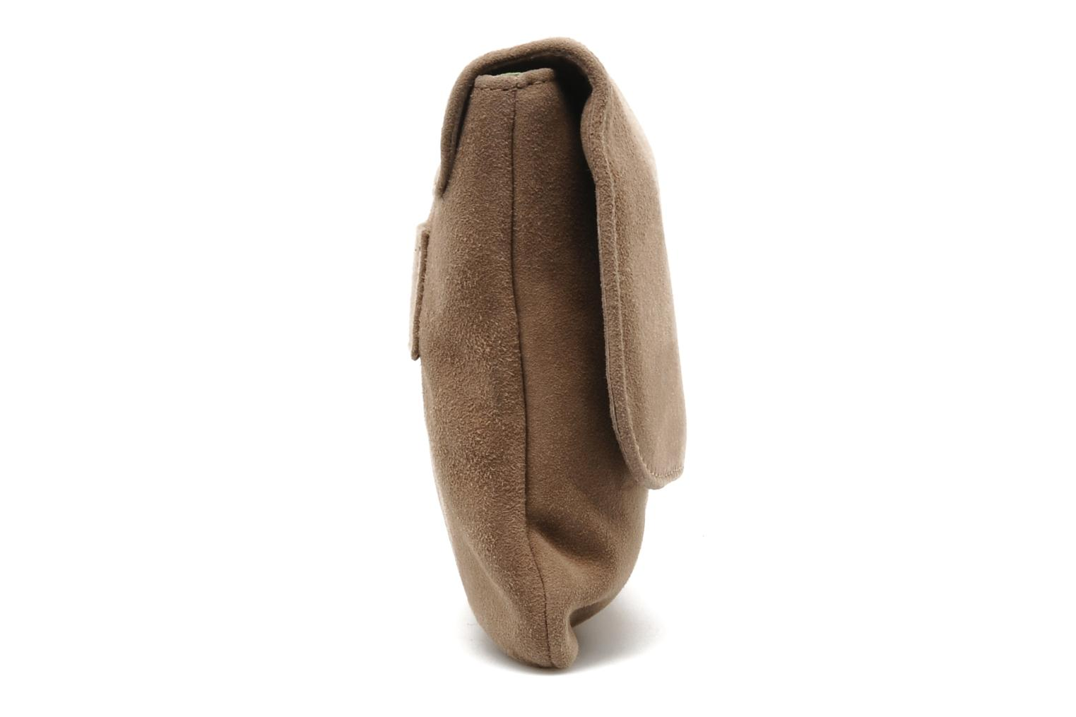 Handbags Unisa ZBOREAL Beige view from the right