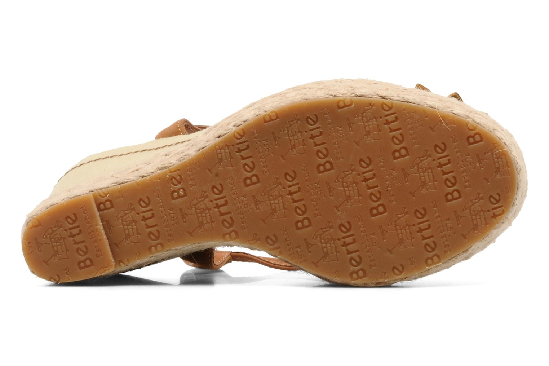 Sandales et nu-pieds Bertie Giotto Beige vue haut