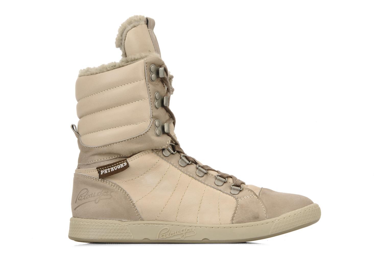 Sneaker Pataugas Janet w beige ansicht von hinten