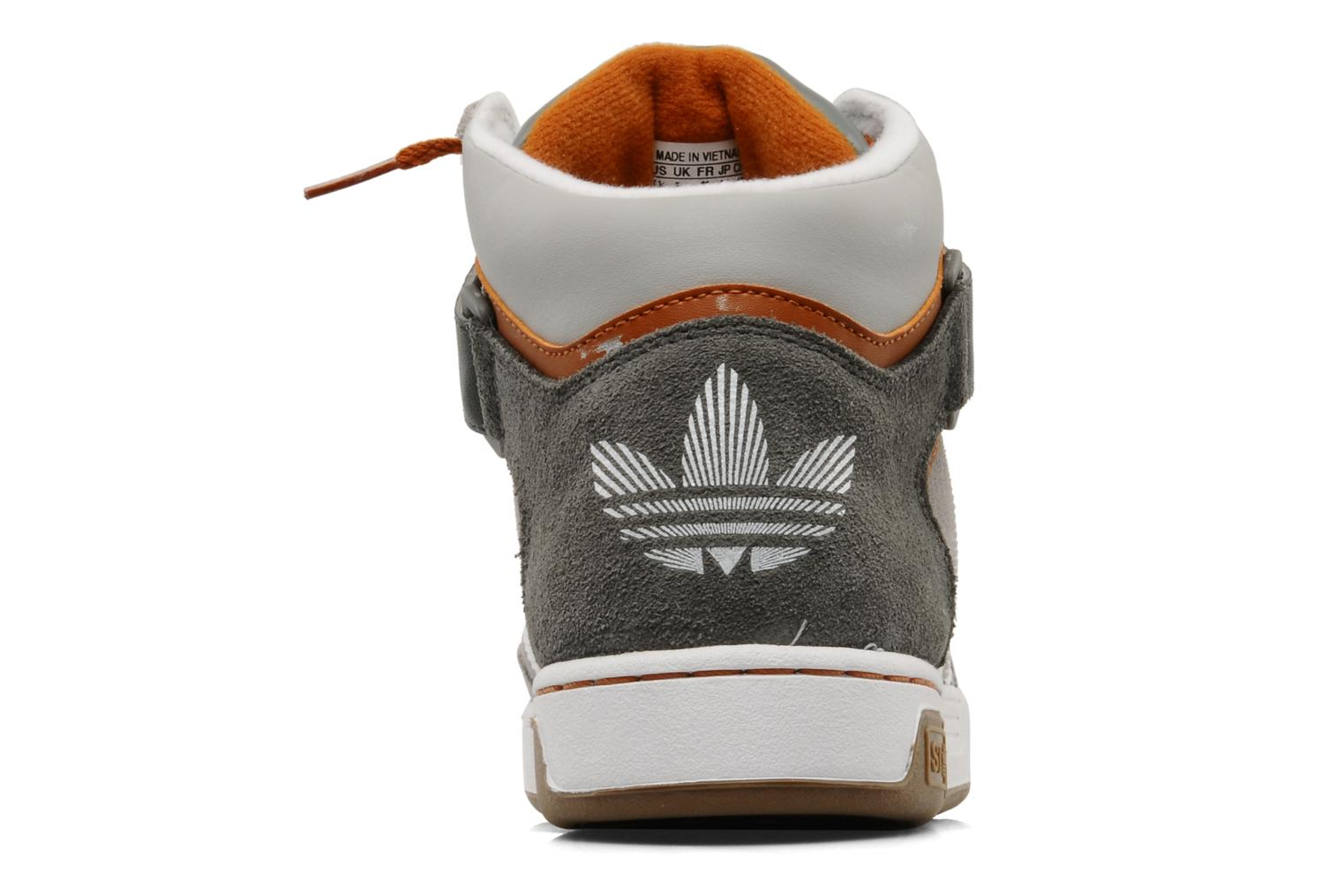 Trainers Adidas Originals Varial Mid St J Grey view from the right