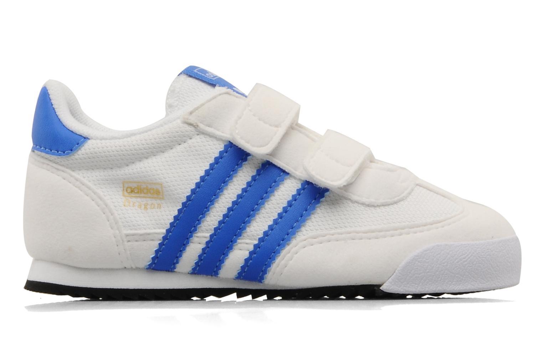 Bleazu/Blanc/Blanc Adidas Originals Dragon CF I (Bleu)