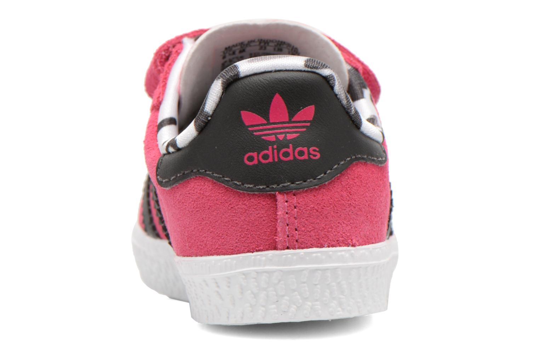 Sneakers Adidas Originals Gazelle 2 CF I Roze rechts