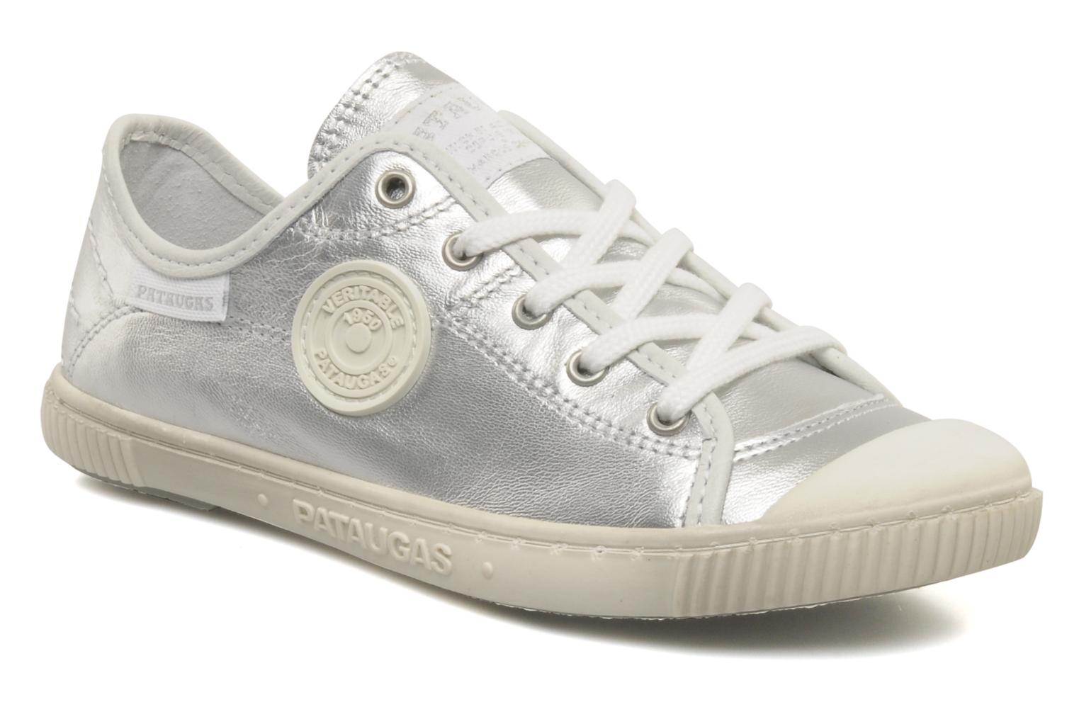 Trainers Pataugas Boutchou/m e Silver detailed view/ Pair view