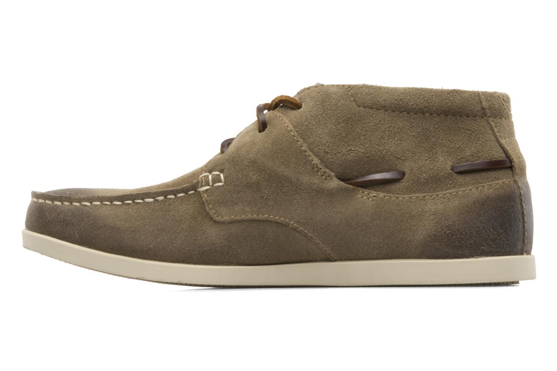 Zapatos con cordones Timberland CL 16 Chukka Beige vista de frente