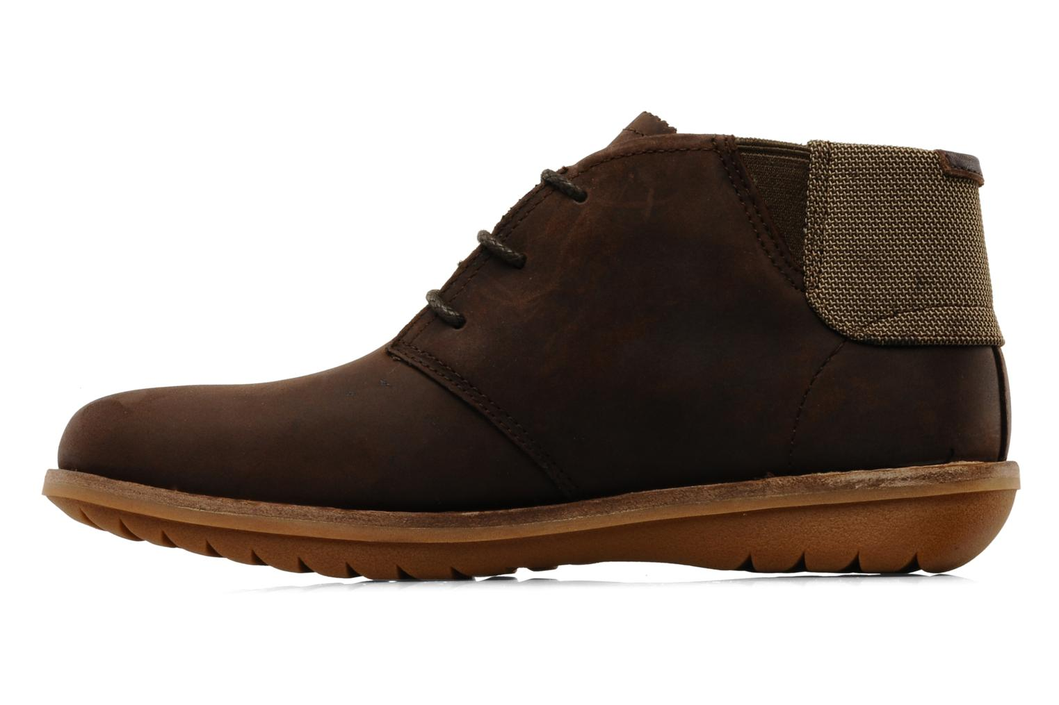 Chaussures à lacets Timberland Earthkeepers Front Country Travel Plain Toe Chukka Marron vue face
