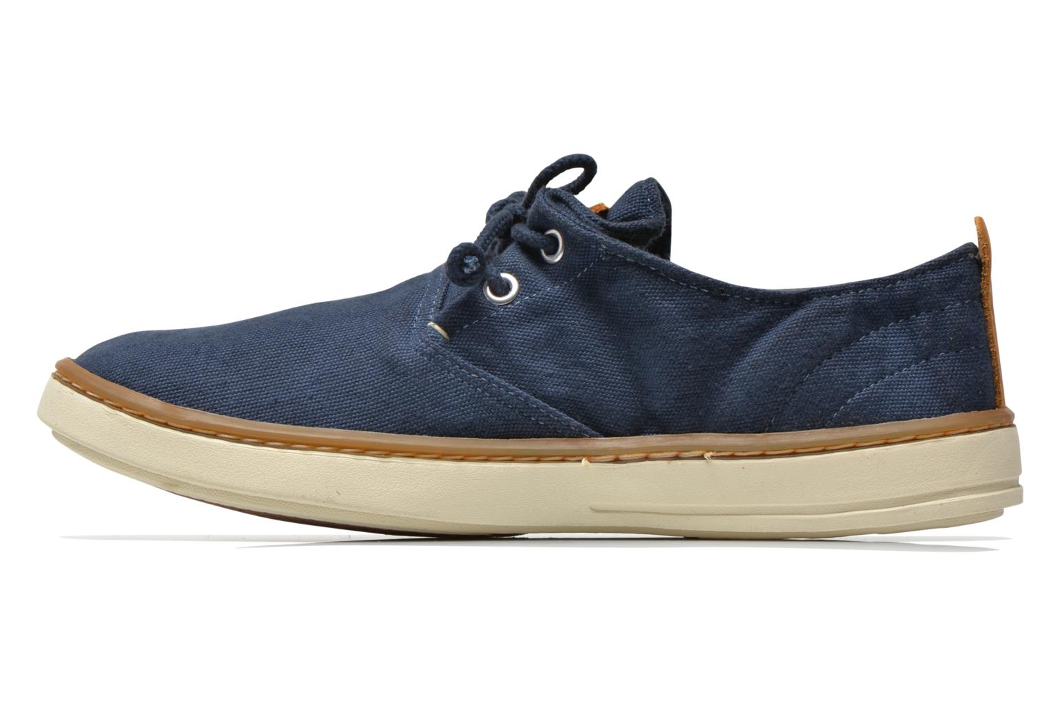 Sneakers Timberland Earthkeepers Hookset Handcrafted Fabric Oxford Blauw voorkant
