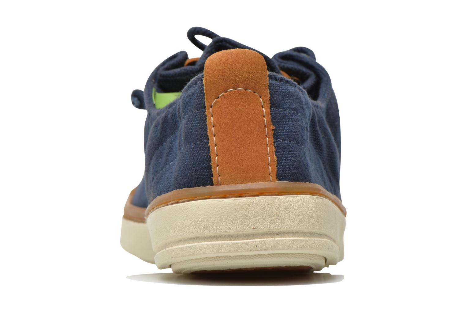 Sneakers Timberland Earthkeepers Hookset Handcrafted Fabric Oxford Blauw rechts