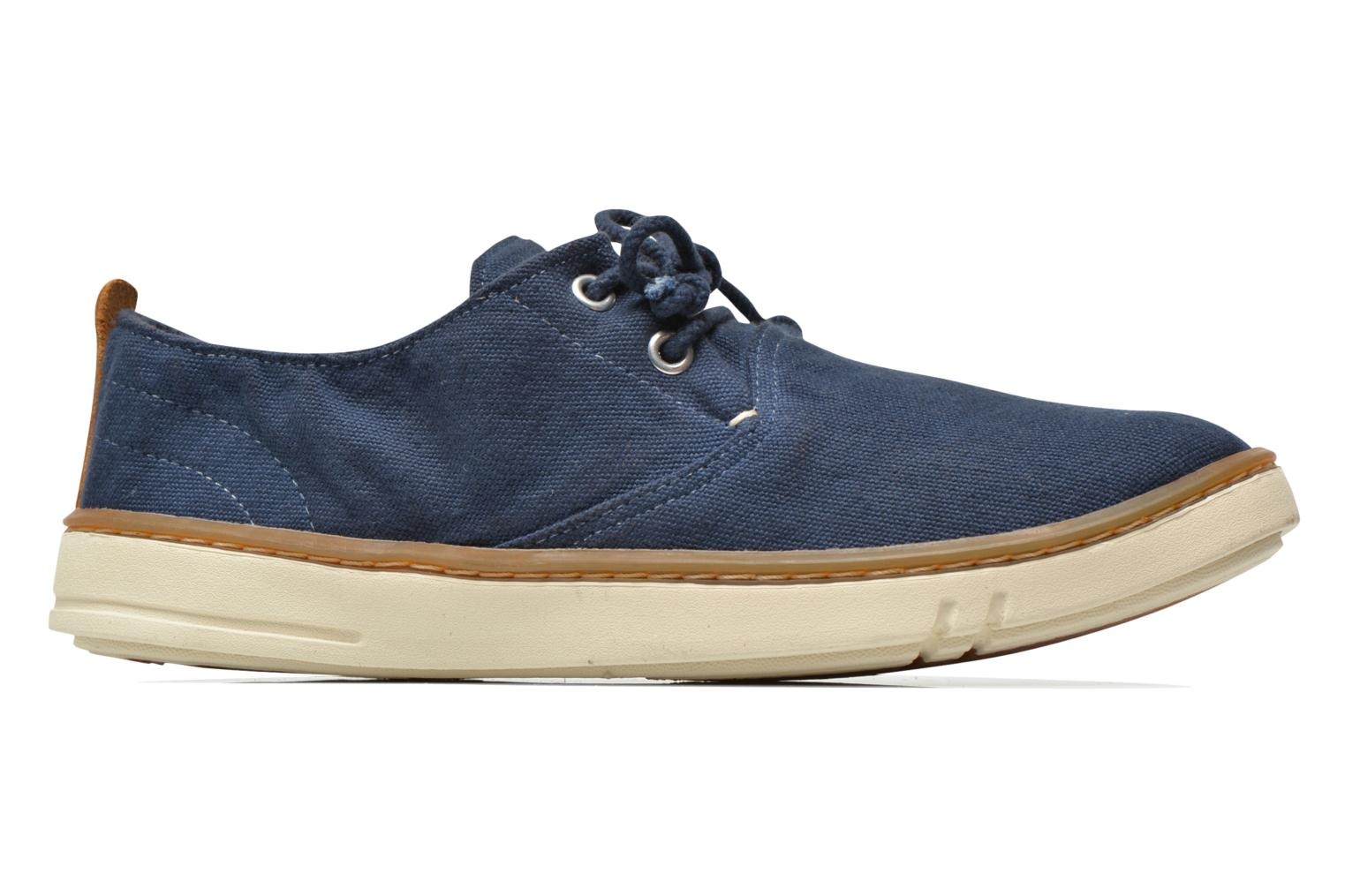 Sneakers Timberland Earthkeepers Hookset Handcrafted Fabric Oxford Blauw achterkant