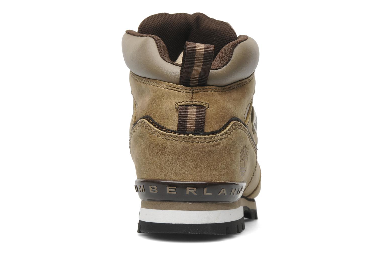 Chaussures à lacets Timberland Splitrock 2 Beige vue droite