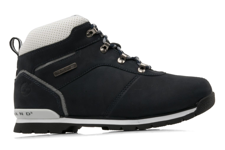 Boots en enkellaarsjes Timberland Splitrock 2 Kid Blauw achterkant