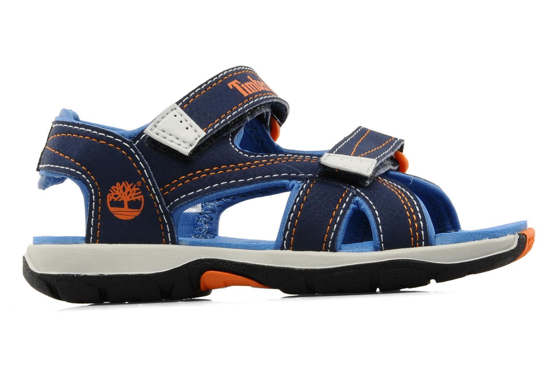 Sportschuhe Timberland Mad River 2-Strap Sandal blau ansicht von hinten