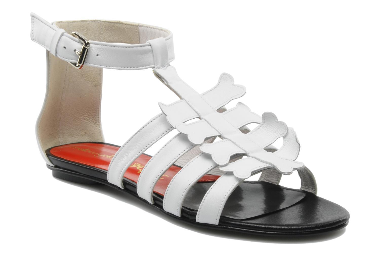 Grandes descuentos últimos zapatos Mellow Yellow Leskelet (Blanco) - Sandalias Descuento