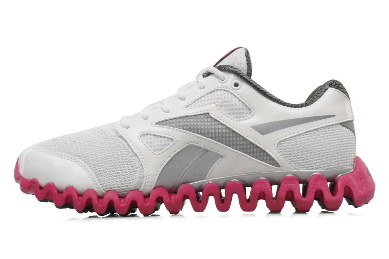 Chaussures de sport Reebok Premier Zigfly 2 W Blanc vue face
