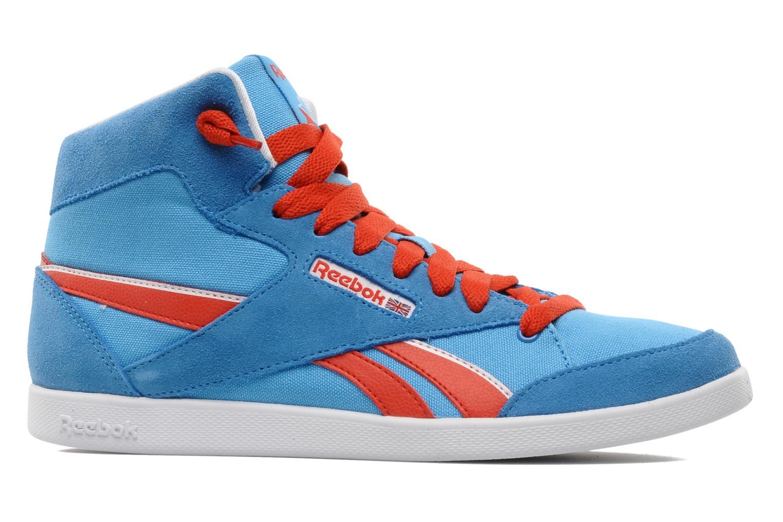 Sneakers Reebok Fabulista Mid Blauw achterkant