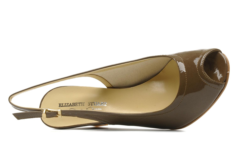 Sandales et nu-pieds Elizabeth Stuart Bambi 348 Marron vue gauche