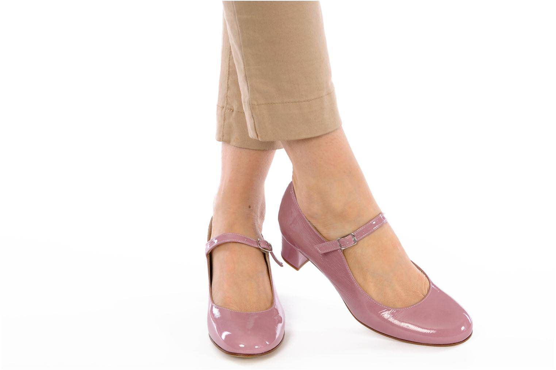 High heels Elizabeth Stuart Liga Pink view from underneath / model view