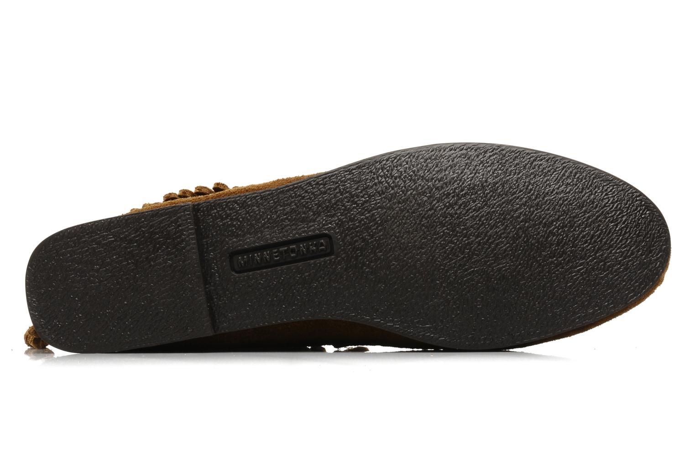 Boots en enkellaarsjes Minnetonka BACK ZIPPER BT Bruin boven